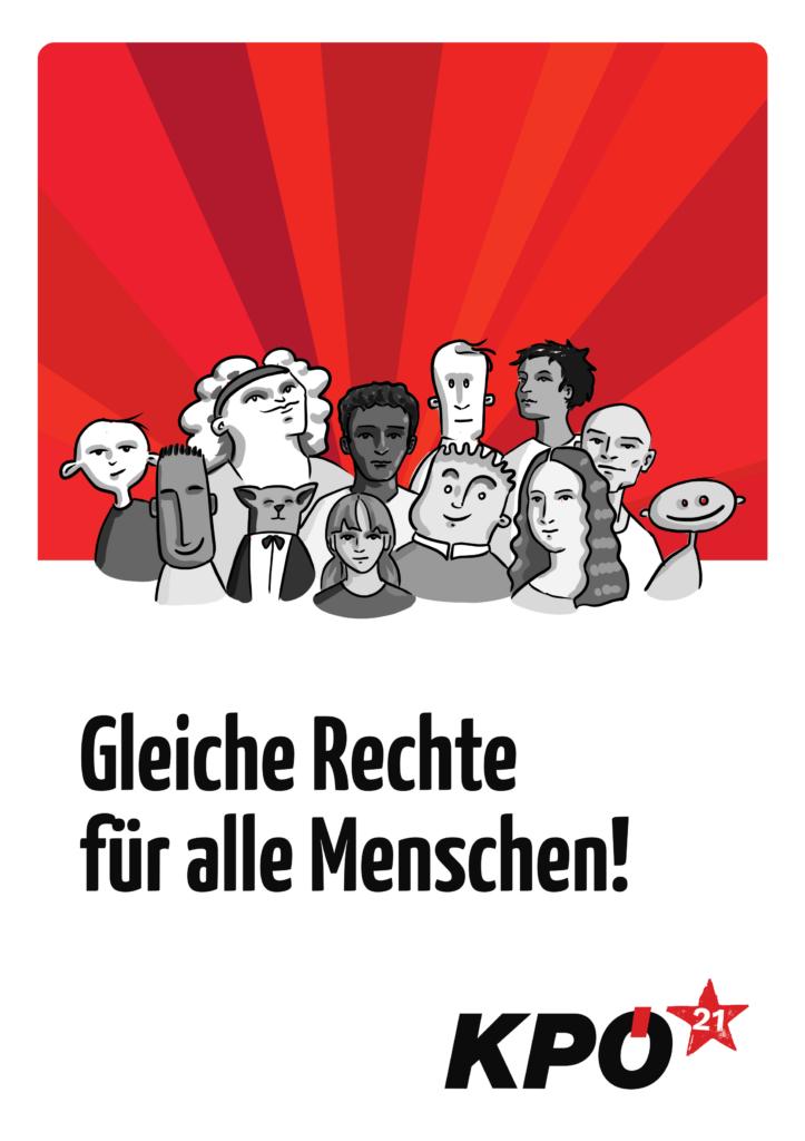 Demokratie und Gleichberechtigung für alle